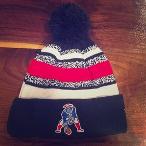 New England Patriots Cold Weather Sport Knit
